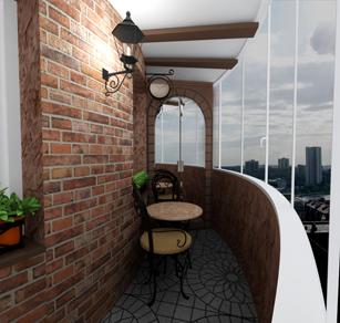 Картинки по запросу отделка камнем балконов и лоджий